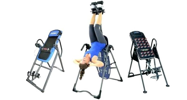 Exercises To Grow Taller - Hanging On An Inversion Table