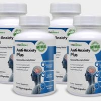 Anti-Anxiety Plus: All-Natural Anxiety Pills