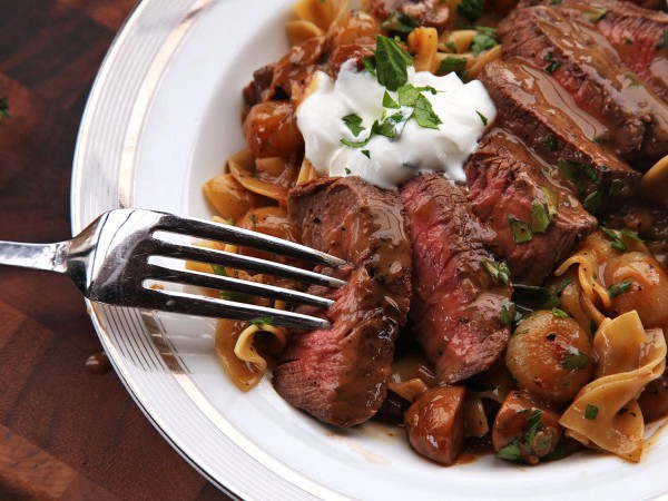 Atkins Recipes - Beef Chili Stroganoff