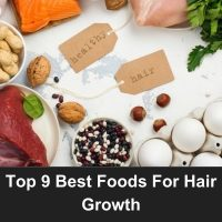 Top 9 Best Foods For Hair Growth