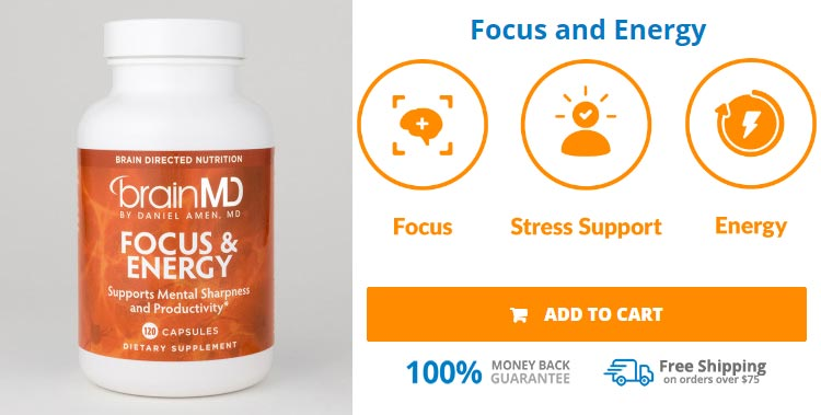 Buy BrainMD Focus And Energy Pills