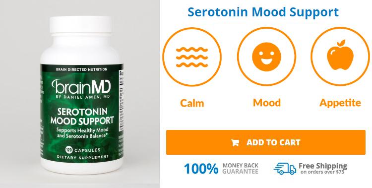 Buy BrainMD Serotonin Mood Support
