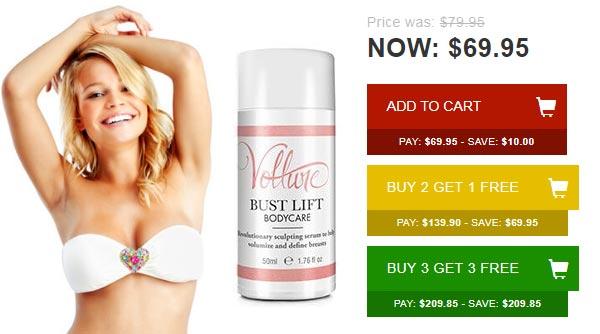 Buy Vollure Bust Lift Cream
