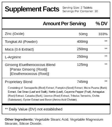 Cilexin Ingredients