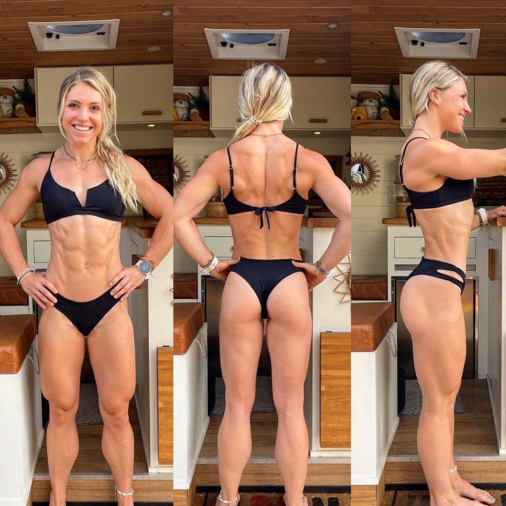 Claire P. Thomas workout progress pic