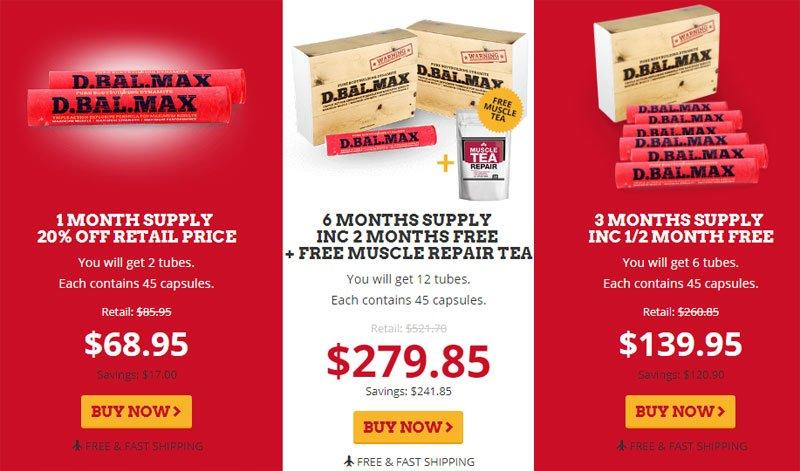 D-Bal MAX Offers