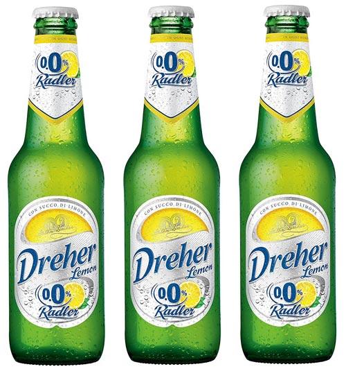 """Dreher: """"Lemon Radler"""" Non-Alcohol Malt Beer Taste Beverage"""