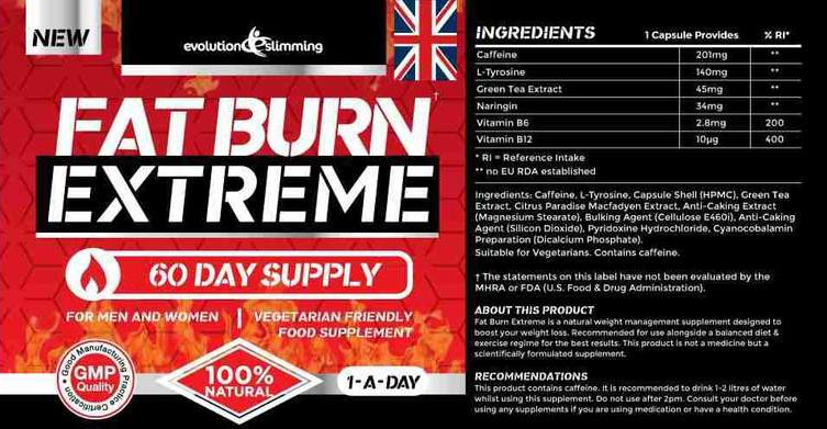 Fat Burn Extreme Ingredients