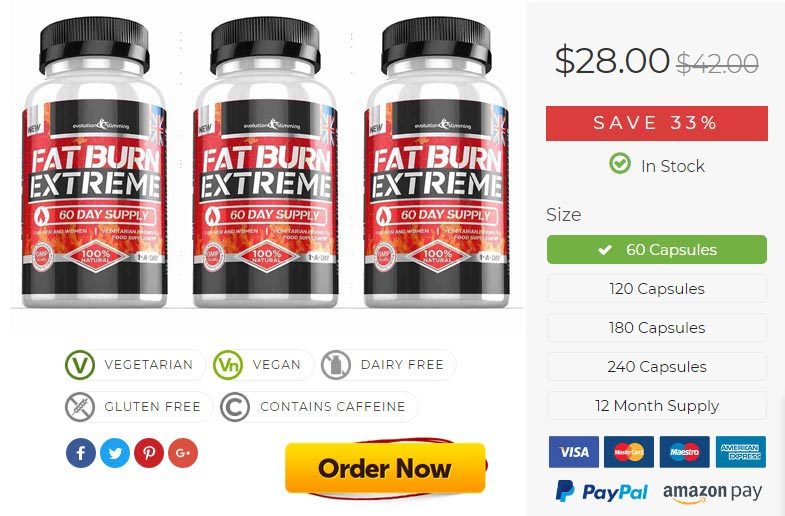 Fat Burn Extreme Offer