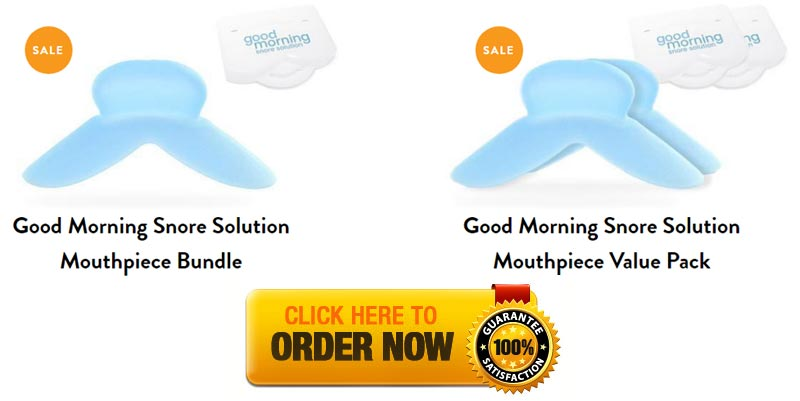 Good Morning Snore Solution Offer