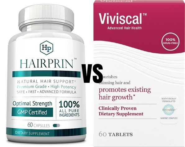 Hairprin Vs Viviscal