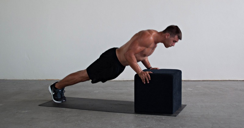 Hands-Elevated Push-Up
