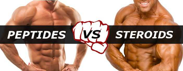 How Do Peptides And Steroids Compare?