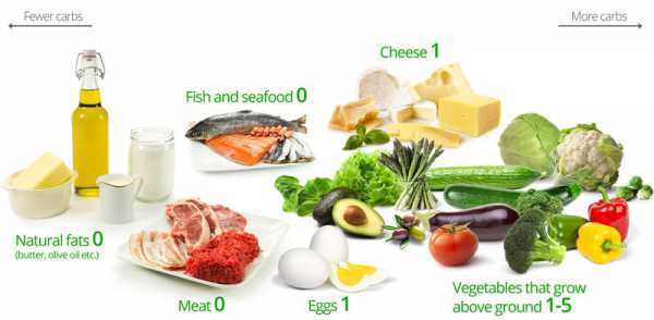 Ketosis Foods And Their Carb Content