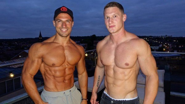Matt Morsia and Mike Thurston