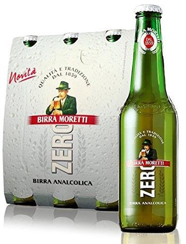 """Moretti: """"Zero"""" Non-Alcohol Malt Beer Taste Beverage"""