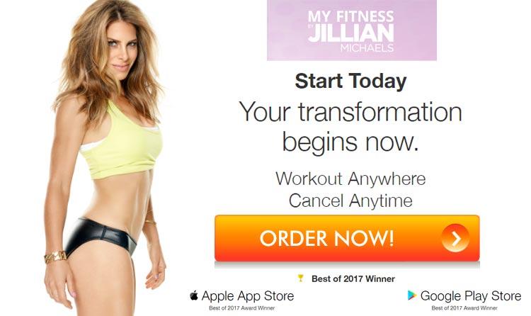 My Fitness by Jillian Michaels Offer