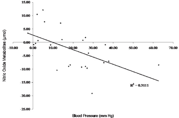 Nitric Oxide And Blood Pressure Relationship