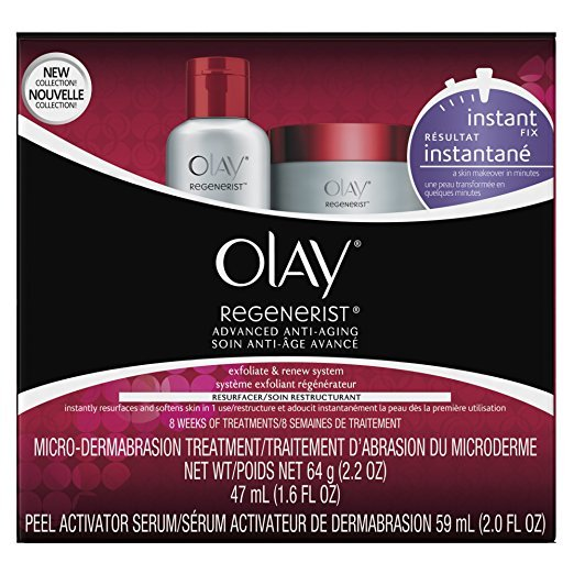 Olay Regenerist Microdermabrasion & Peel System Microdermabrasion Treatment