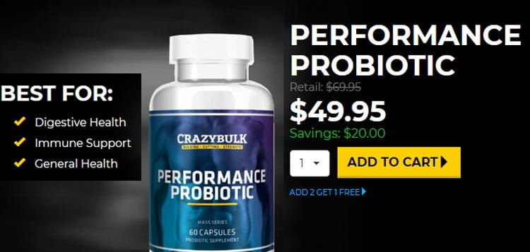 Performance Probiotic Offer