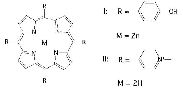 Porphyrins Molecular Structure