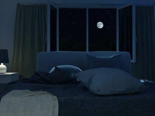 Sleeping in Cold Dark Room
