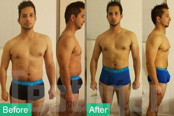 TestoGen Before After Pic Of Gustavo