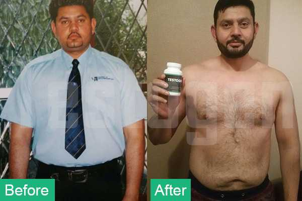 TestoGen Before After Pic Of Mohammed