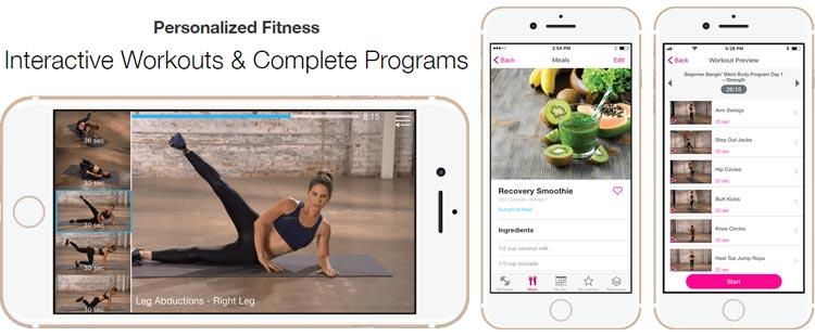 My Fitness by Jillian Michaels App