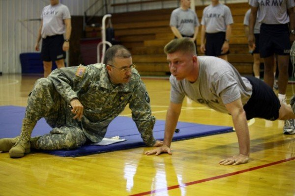 The US Army Fitness Test