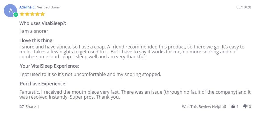 VitalSleep Reviews