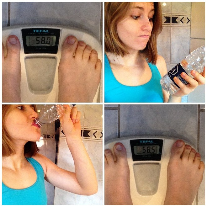 Weight Fluctuation and water retention relation