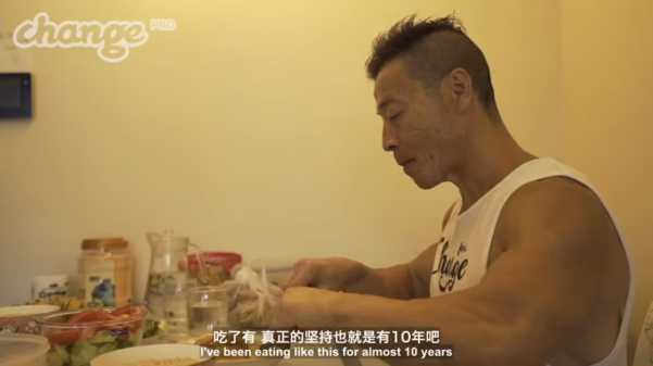 Yang Xinmin Diet