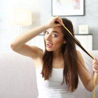 Average Hair Length in Women