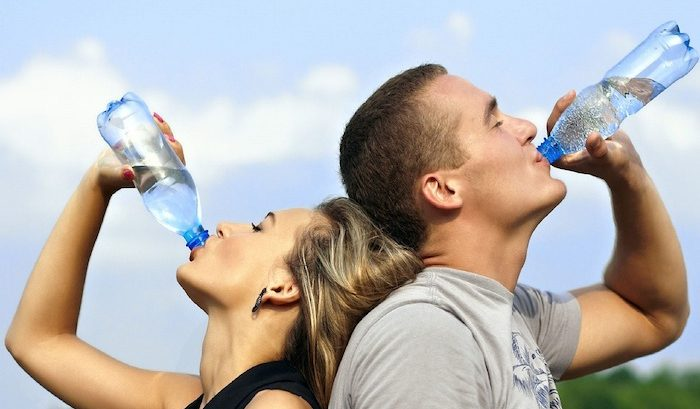 drinking water for better skin