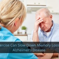 Exercises Can Slow Memory Loss in Alzheimer's Disease
