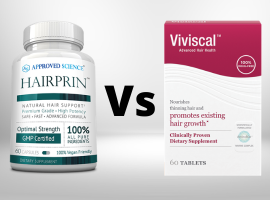 hairprin vs viviscal