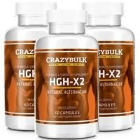 HGH-X2 Review: HGH Booster From Crazy Bulk