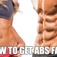 How To Get Abs Fast & Easy – Simple Yet Effective Diet & Workout