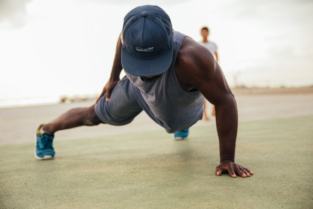 One-Handed Push-ups