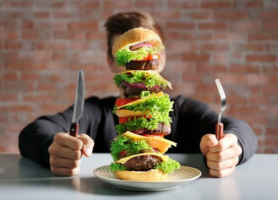 over eating does not cause obesity
