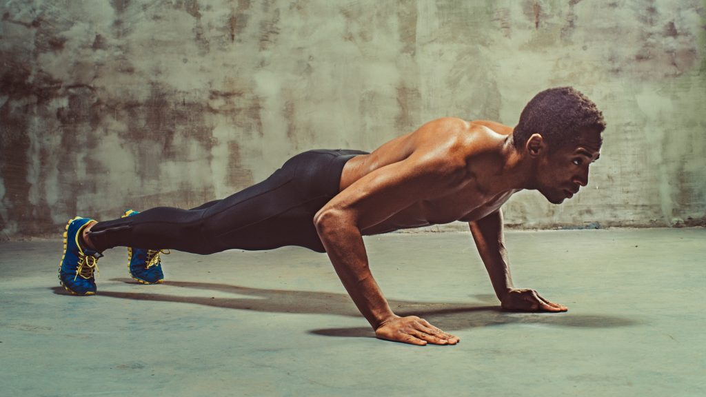 proper way of doing push ups