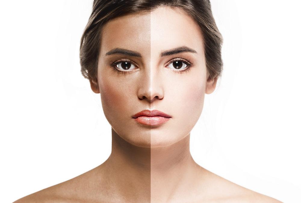 remove skin tan at home