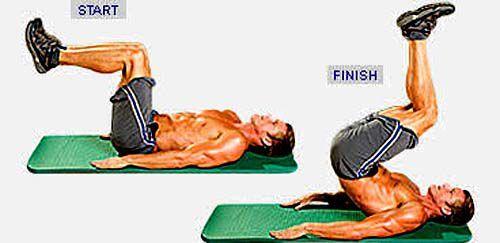 six-pack-abs-workout-reverse-crunch