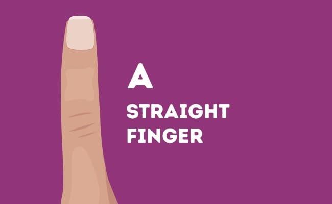 straight-finger