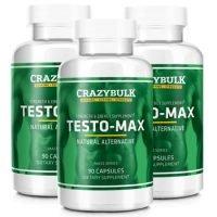 Crazy Bulk Testo Max – Legal Alternative To Sustanon – Boosts Testosterone Levels