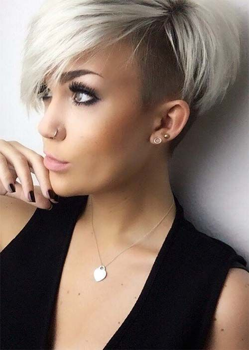 undercut hair style women